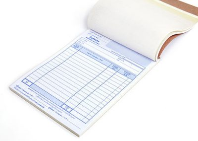 Invoice & Docket Booklets